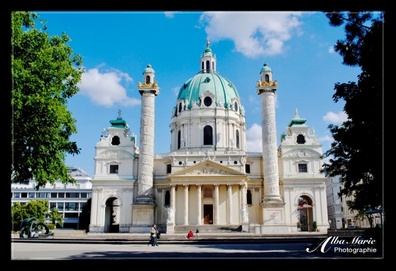 Karls church Vienna